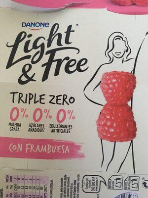 Light & Free con frambuesa