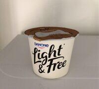 Yogur desnatado con coco triple zero m.g. azúcares - Product
