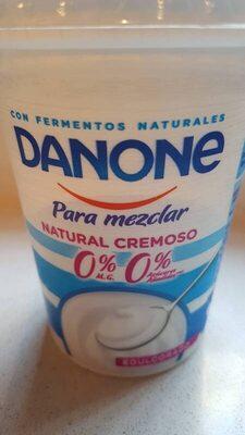 Danone para mezclar Natural Cremoso