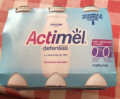 Actimel sin azucar añadido 00