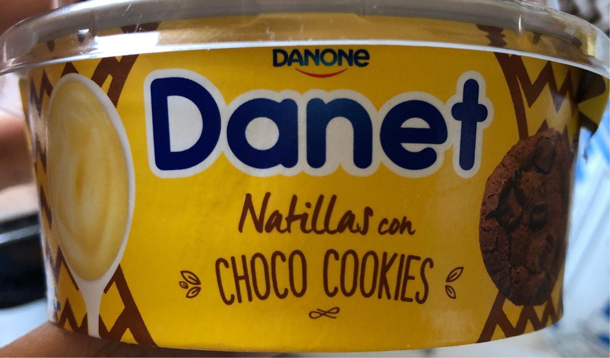 Danet choco cookies - Produkt - es