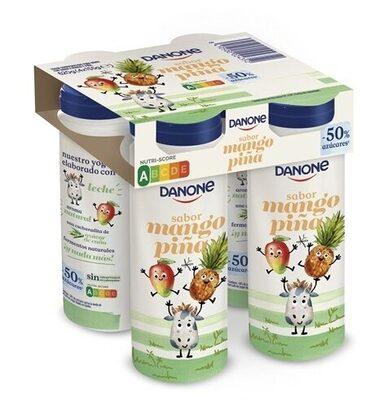 Yogur mango piña - Produit - es
