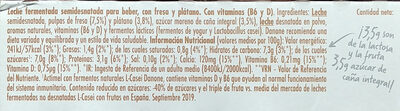 Actimel - Ingredientes - es