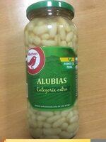 Alubias cocida categoria extra - Información nutricional - en
