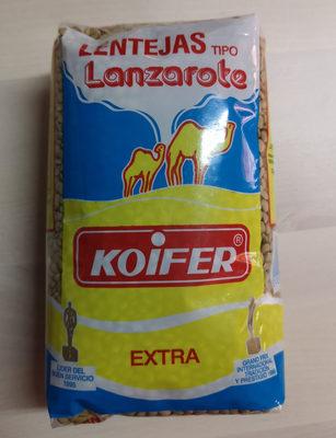Lentejas tipo Lanzarote - Producto