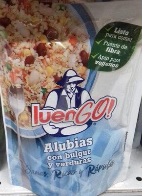 LuenGo Alubias, Bulgur y verduras