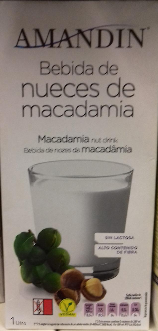 Bebida de nueces de macadamia - Product - es