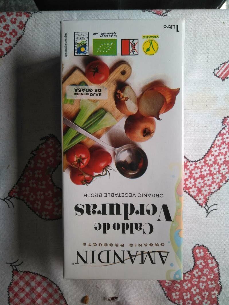 Caldo De Verduras Bio - Product - fr