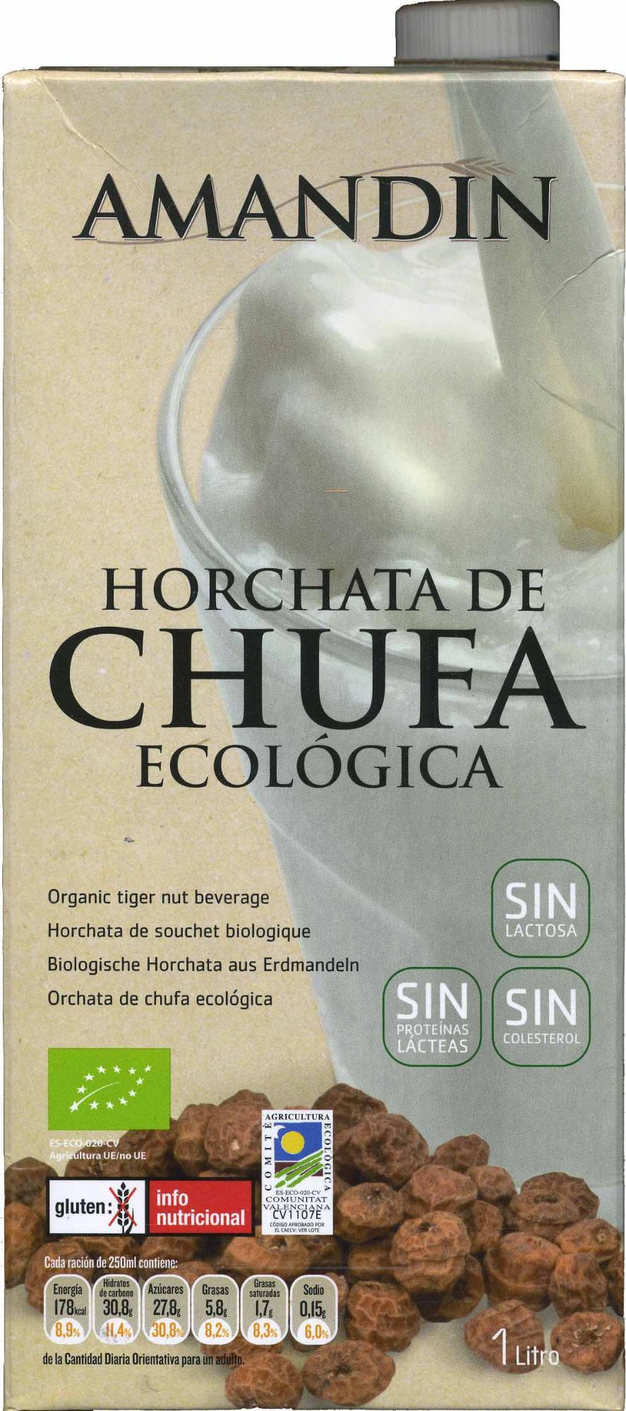 Horchata de chufa ecológica - Producto - es