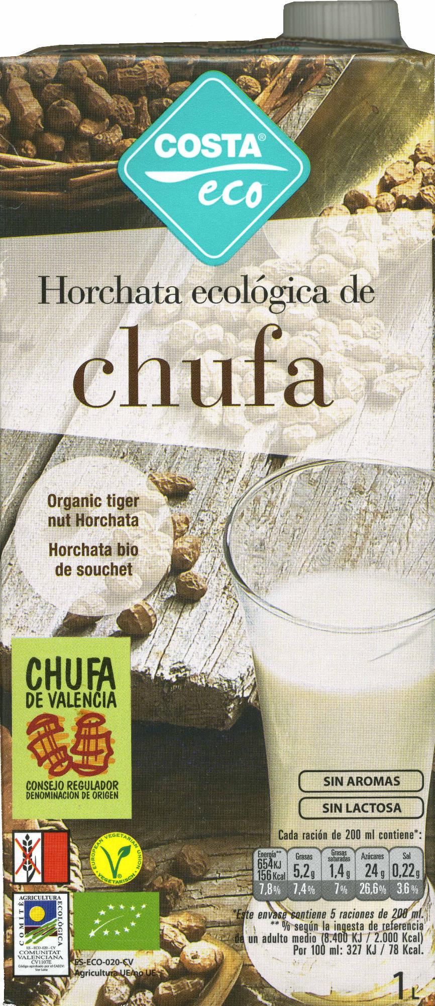 Horchata ecológica de chufa - Producte - es