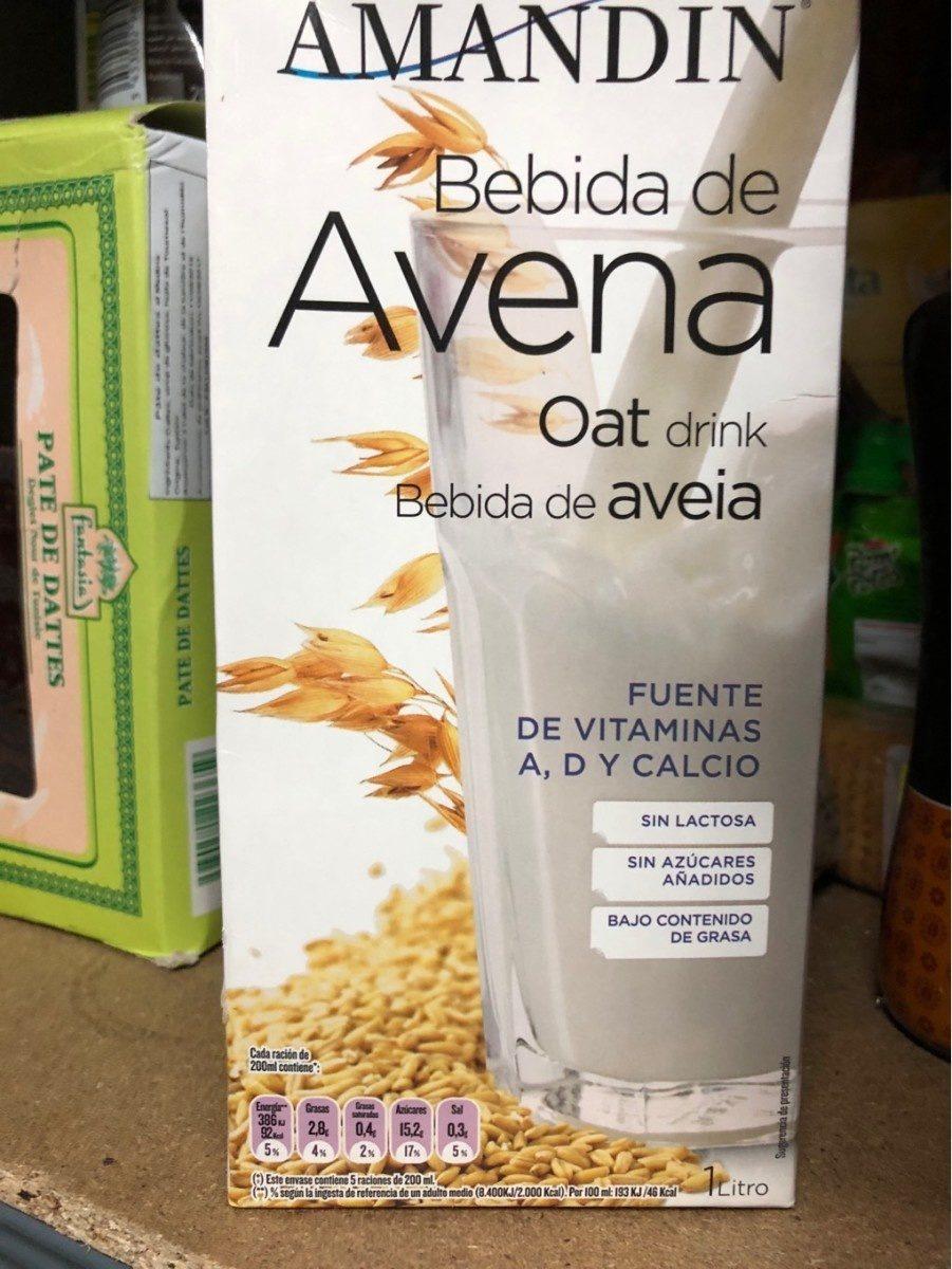 Bebida de Avena - Product - fr