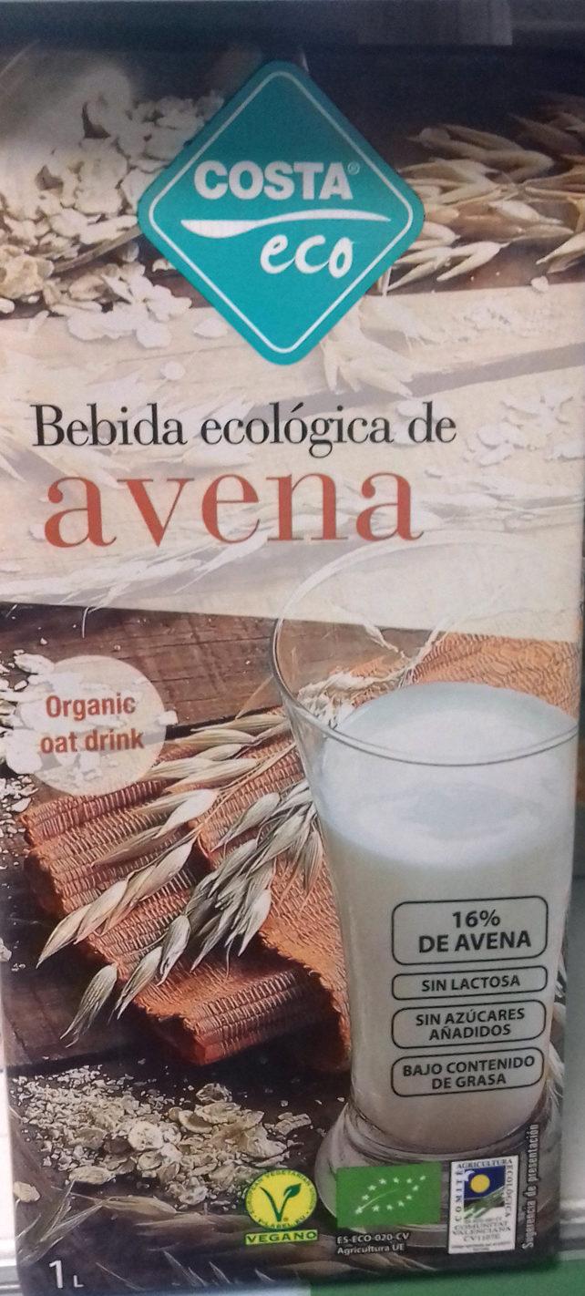 Costa Eco Bebida De Avena Ecológica - Producto