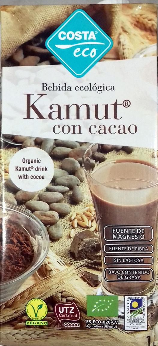 Bebida ecológica Kamut con cacao - Producto - es