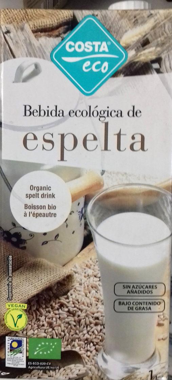 Bebida ecológica de espelta - Product - es