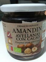 Crema De Avellanas Con Caco Sin Aceite De Palma Eco Amandin - Product - fr