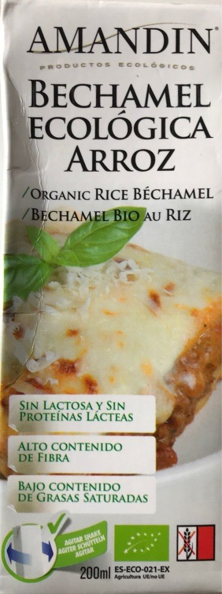 Bechamel - Produit