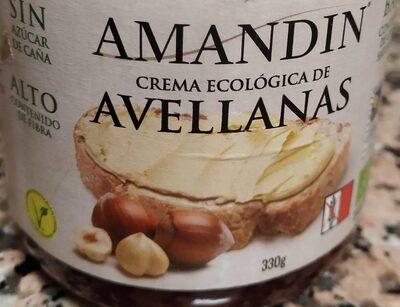 Crema Ecológica de Avellanas