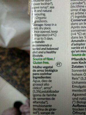 Cuisine Arroz - Ingredients - es