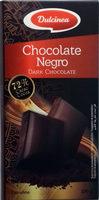 Chocolate negro 72% cacao - Producto