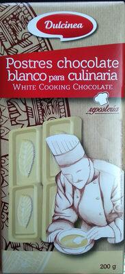 Postres chocolate blanco para culinaria - Producte - ca