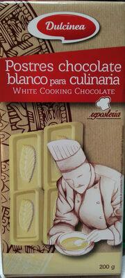Postres chocolate blanco para culinaria - Producto