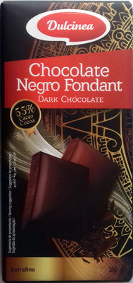 Chocolate Negro Fondant 55% Cacao - Producto - es