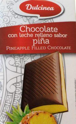 Chocolat au lait fourré ananas - Product