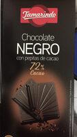 Chocolate negro 72% - Product
