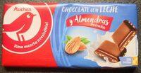 Chocolat au lait avec des amendes - Product
