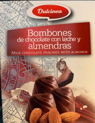 Bombones de chocolate con leche y almendras - Produit - fr
