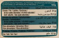 Bombones de chocolate con leche y almendras - Informations nutritionnelles - fr