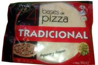4 bases de pizza - Producto