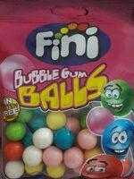 Bubble gum balls - Produit