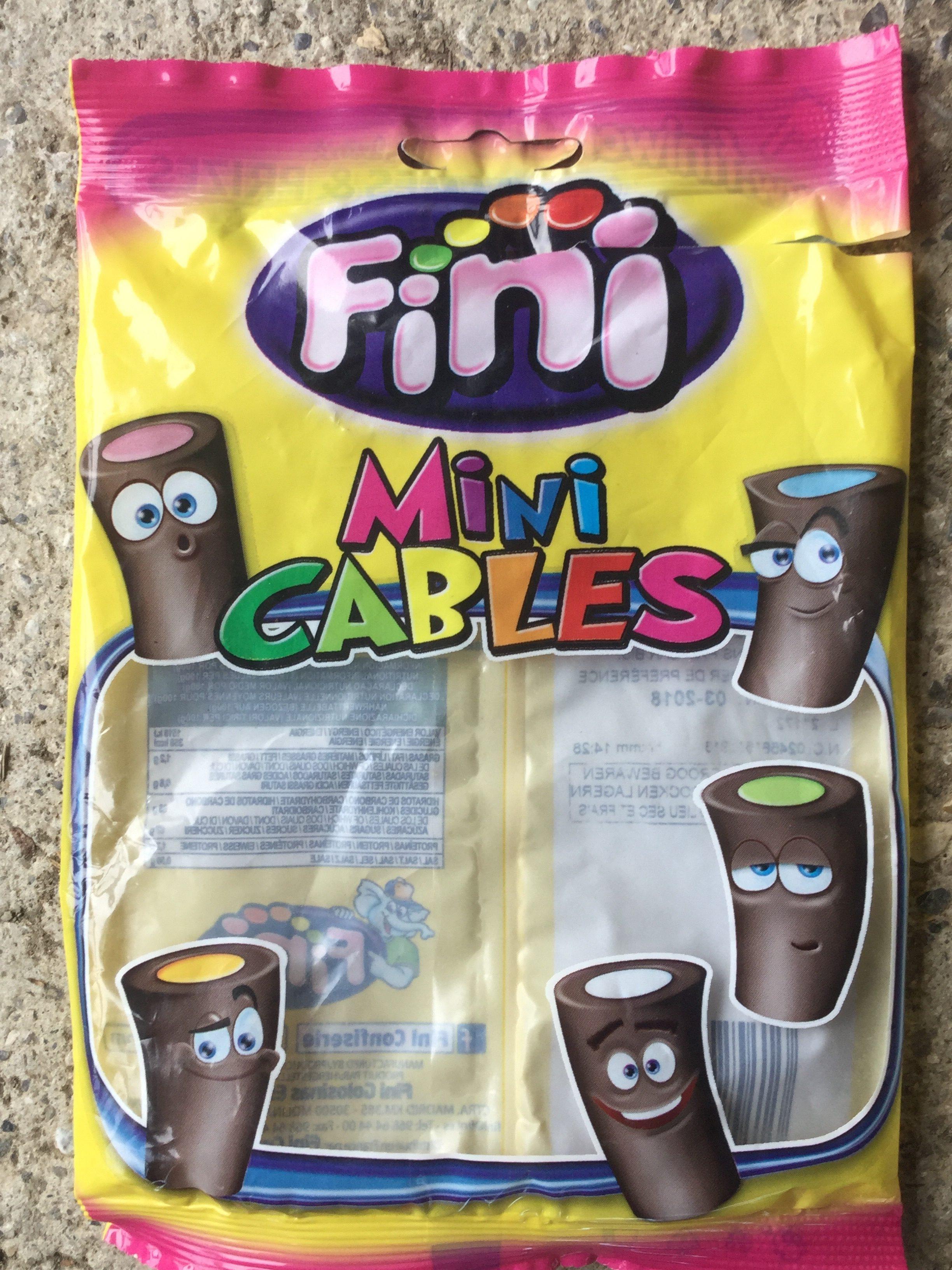 Mini câbles - Bonbons de réglisse - Product - en