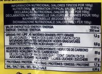 Mini câbles - Bonbons de réglisse - Nutrition facts - fr