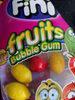 Fruits bubble gum - Product