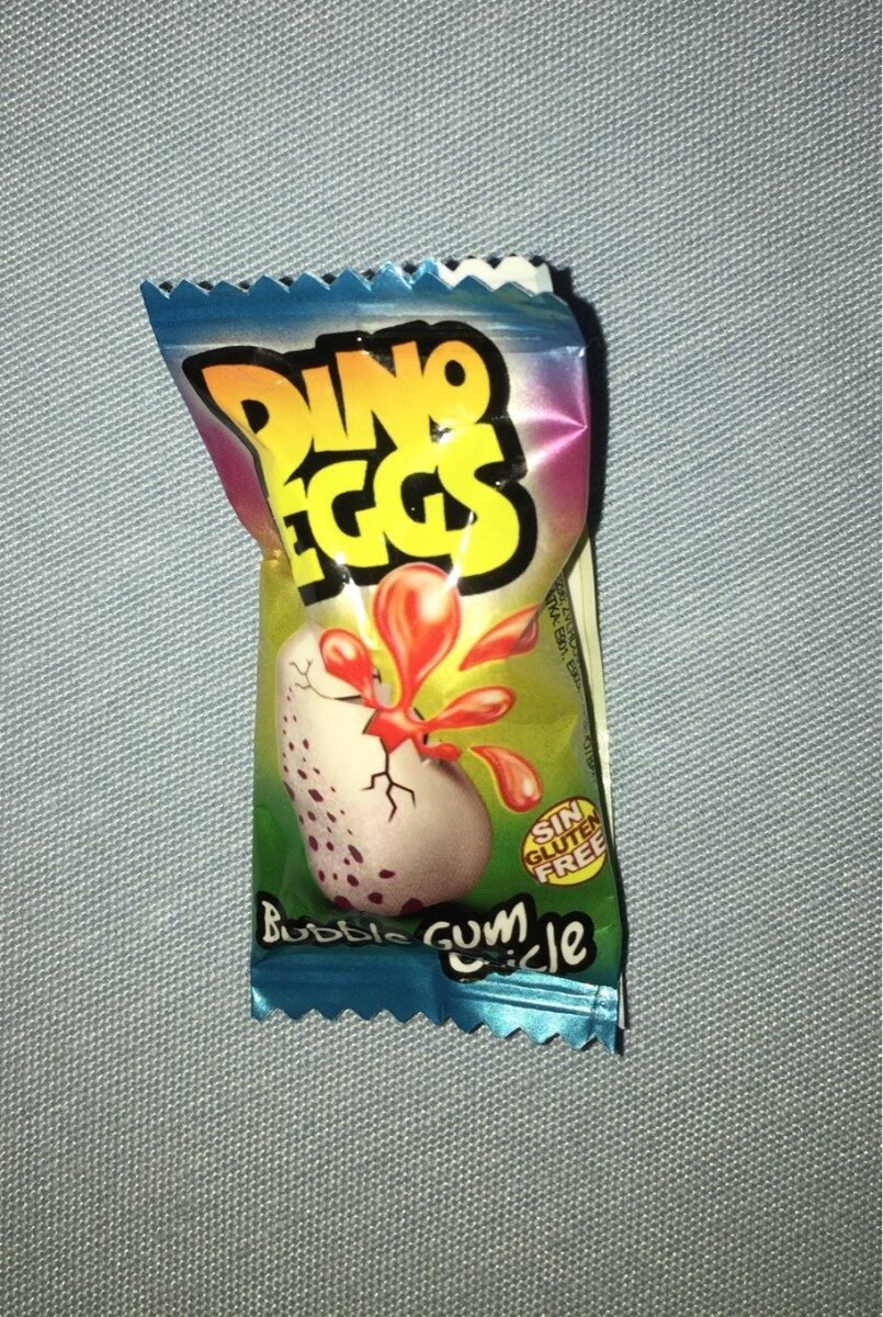 Dino eggs bubble gum - Producte - fr