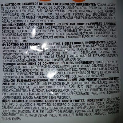 Amazonia Mix Regaliz Pica Pica Fini - Ingredients