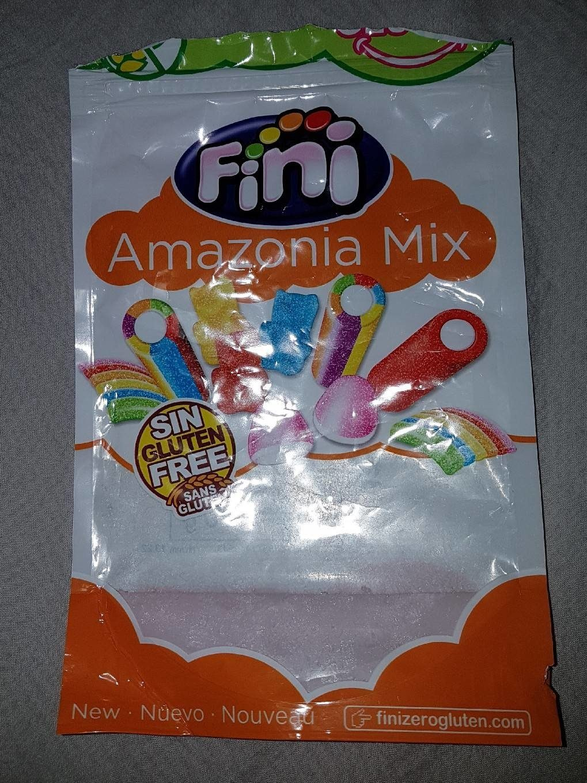 Amazonia Mix Regaliz Pica Pica Fini - Nutrition facts