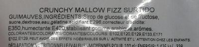 Finitronc Crunchy Mallow fizz surtido - Ingrédients - fr