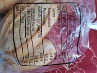 Pulguitas - Información nutricional - es