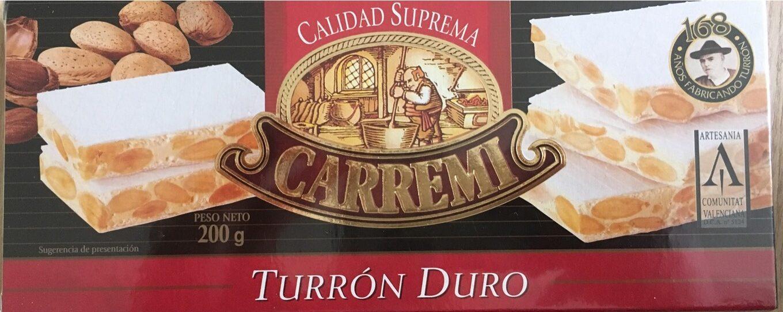 Turron Duro - Produit - fr