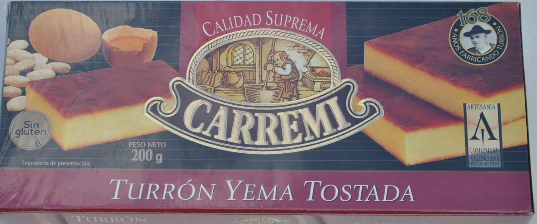 Turron Yema Tostada - Product - fr