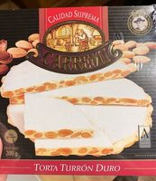 Torta turrón duro - Produit - fr
