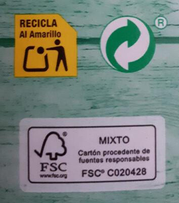 Leche UHT desnatada - Instruction de recyclage et/ou information d'emballage - es