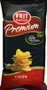 "Patatas fritas lisas ""Frit Ravich"" Premium - Producto"