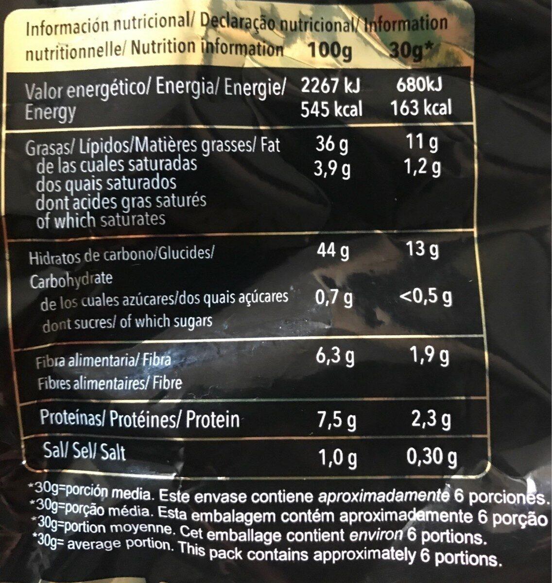 Patatas fritas premium - Informació nutricional - es