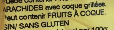 Cacahuete - Ingredientes - fr