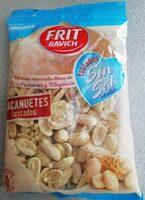 Cacahuetes tostados sin sal añadida - Producto