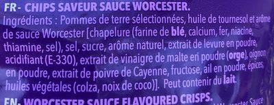 Chips workcester - Ingredientes